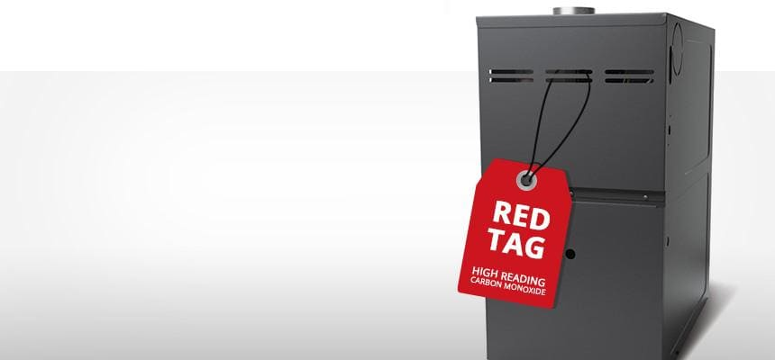 furnace red tag